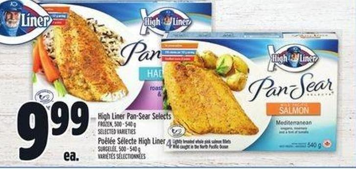High Liner Pan-sear Selects