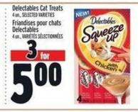 Delectables Cat Treats | Friandises Pour Chats Delectables