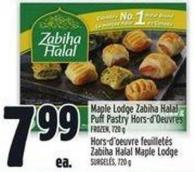 Maple Lodge Zabiha Halal Puff Pastry Hors-d'oeuvres