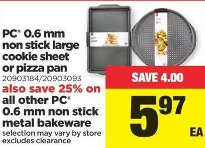 PC 0.6 Mm Non Stick Large Cookie Sheet Or Pizza Pan