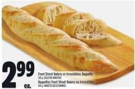 Front Street Bakery Or Irresistibles Baguette