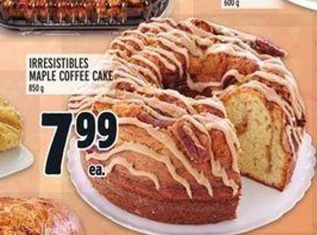 Irresistibles Maple Coffee Cake