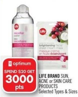 Life Brand Sun - Acne or Skin Care Products