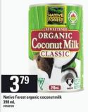 Native Forest Organic Coconut Milk 398 ml