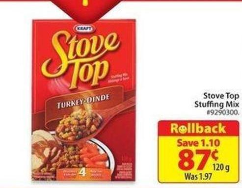 Stove Top Stuffing Mix