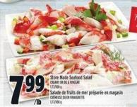 Store Made Seafood Salad Creamy Or Oil & Vinegar