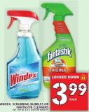 Windex - Scrubbing Bubbles Or Fantastik Cleaners 650 - 950 mL - 623 g