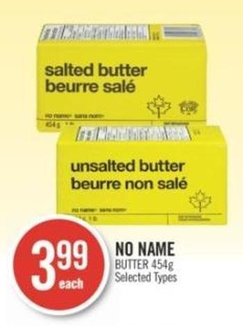 No Name Butter 454g