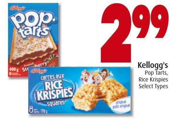 Kellogg's Pop Tarts - Rice Krispies