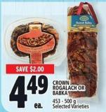 Crown Rogalach Or Babka 453 - 500 g