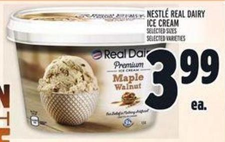 Nestlé Real Dairy Ice Cream