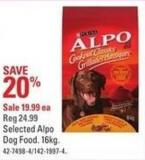 Purina Selected Alpo Dog Food