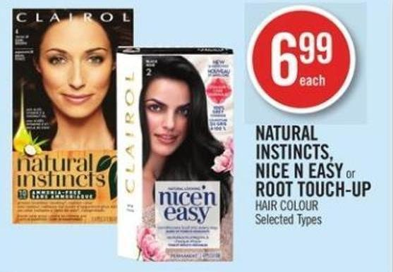 Natural Instincts - Nice N' Easy or Root Touch-up Hair Colour