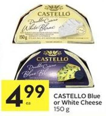 Castello Blue or White Cheese 150 g