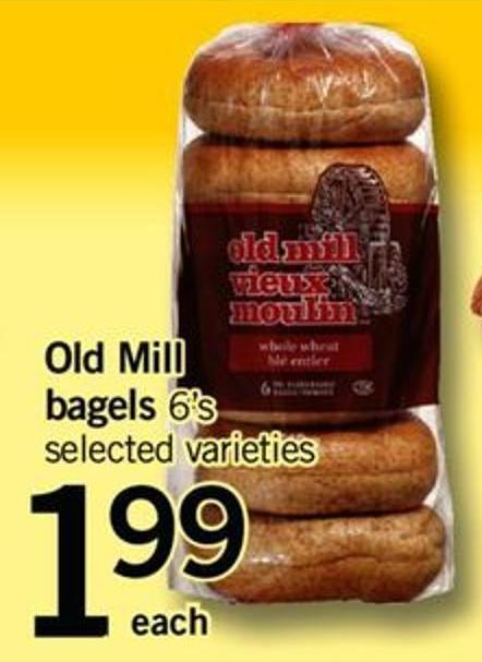 Old Mill Bagels - 6's