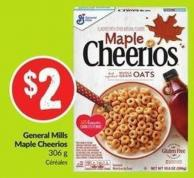 General Mills Maple Cheerios 306 g