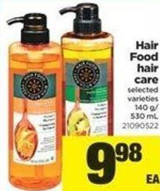 Hair Food Hair Care - 140 G/530 Ml