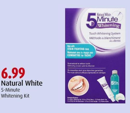 Natural White 5-minute Whitening Kit