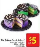 The Bakery Classic Cakes