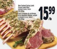 New Zealand Spring Lamb Frozen Lamb Rack