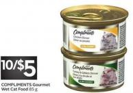 Compliments Gourmet Wet Cat Food 85 g