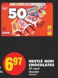 Nestlé Mini Chocolates - 50 Count