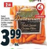 Peeled Baby Carrots 907 g
