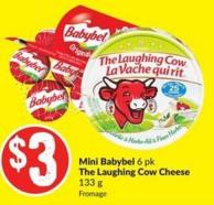 Mini Babybel 6 Pk The Laughing Cow Cheese 133 g