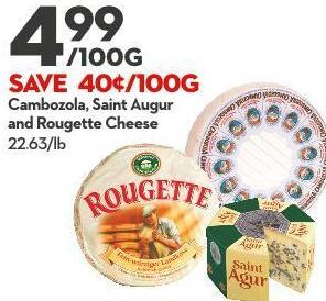 Cambozola - Saint Augur  and Rougette Cheese