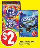 Christie Snak Paks or Kid's Cookies 180-225 g