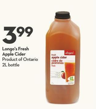 Longo's Fresh Apple Cider