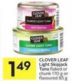 Clover Leaf Light Skipjack Tuna