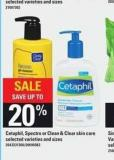 Cetaphil - Spectro Or Clean & Clear Skin Care