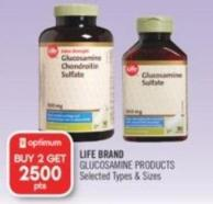 Life Brand Glucosamine Products