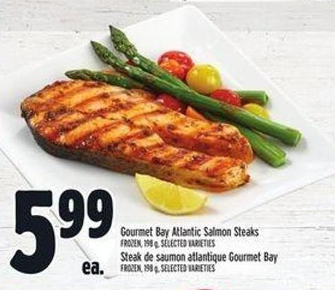Gourmet Bay Atlantic Salmon Steaks