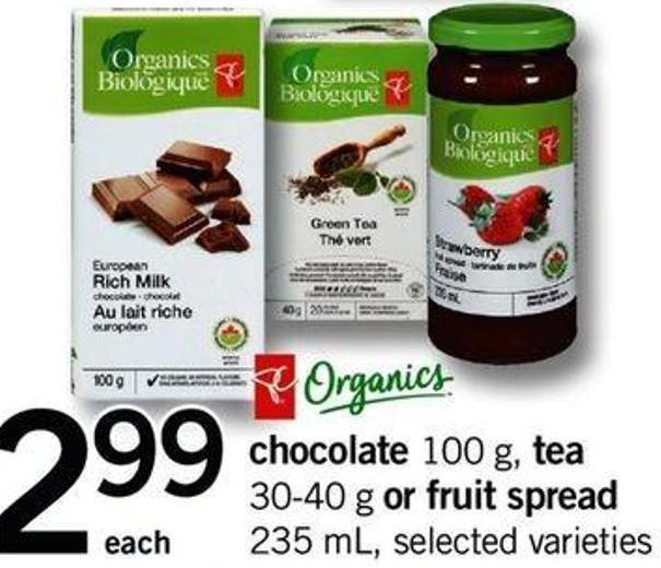 Chocolate - 100 F - Tea - 30-40 G Or Fruit Spread - 235 Ml