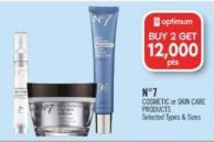 N°7 Cosmetic or Skin Care Products
