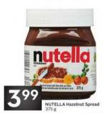 Nutella Hazelnut Spread - 375 g