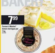 Farmer's Market Lemon Meringue Pie - 1 Kg