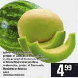 Golden Honeydew Melon Or Honeydew Melon Or Mini Seedless Watermelon