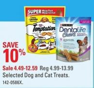 Selected Dog and Cat Treats