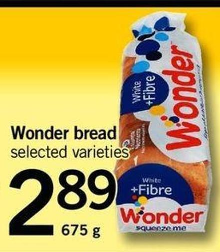 Wonder Bread - 675 G