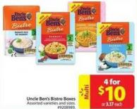Uncle Ben's Bistro Boxes