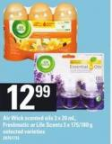 Air Wick Scented Oils 3 X 20 Ml - Freshmatic Or Life Scents 3 X 175/180 G