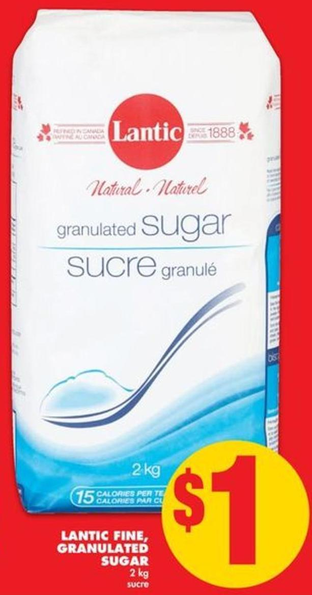 Lantic Fine Granulated Sugar - 2 Kg
