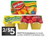 Mott's Fruitsations