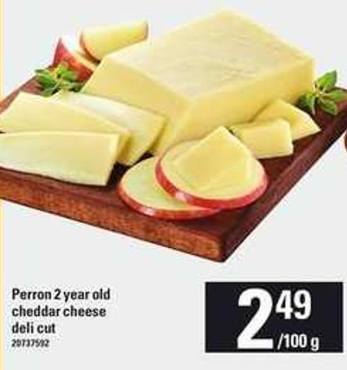 Perron 2 Year Old Cheddar Cheese