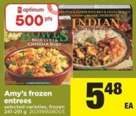 Amy's Frozen Entrees - 241-291 g