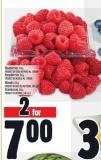 Blueberries 170 G Product Of Chile Or Peru - No. 1 Grade Raspberries 170 G Product Of Mexico - No. 1 Grade