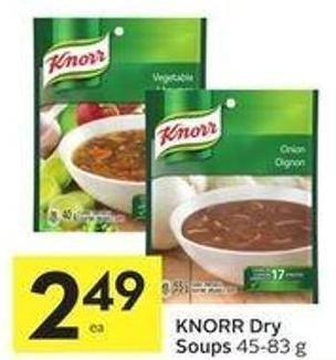 Knorr Dry Soups 45-83 g